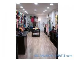 traspaso tienda en el centro de Salamanca