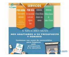 Servicio de limpieza y productos agranel