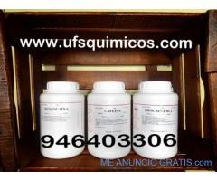 venta de tetracaina 946403306, procaina, benzocaina, manitol, levamisol, clorito sodico al 80%